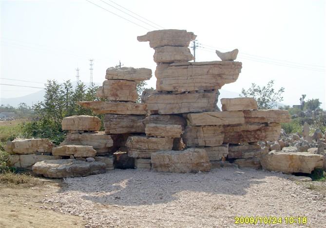 千层石假山 景观石供应