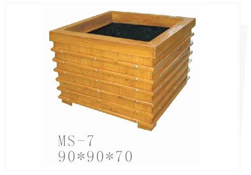 木制花盆 花盆供应