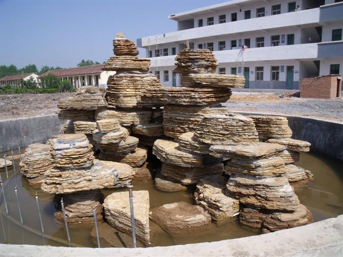 假山石 千层石 景观石供应