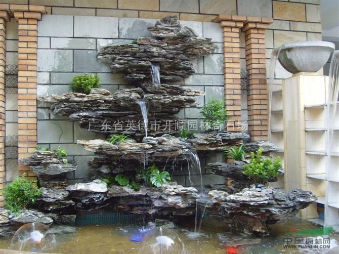 鱼池 室内家庭鱼池图片 阳台假山鱼池图片 阳台鱼