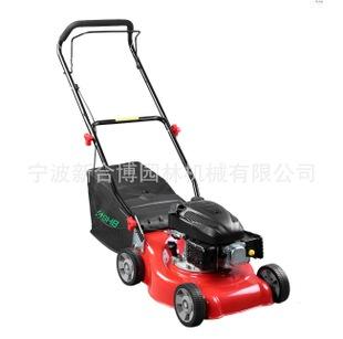 厂家直销 16寸汽油手推割草机 四冲程 四轮调高草坪机 外贸品质