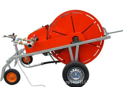 小型移动喷灌50-180型  节水抗旱盘式喷灌机 水涡轮驱动灌溉设备