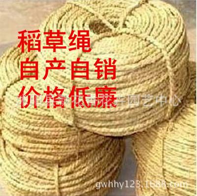 批发稻草绳  草绳 草帘 适用于绿化工程防冻 保温