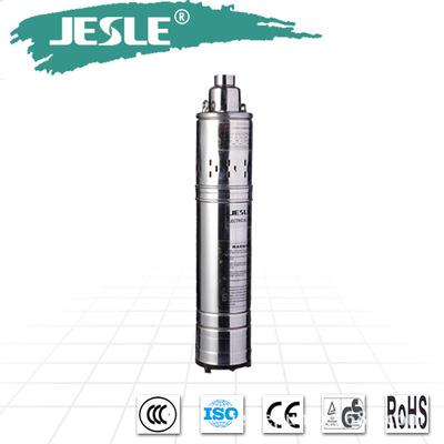 杰仕力螺杆潜水泵、小型不锈钢深井泵、高楼供水高扬程220V抽水机