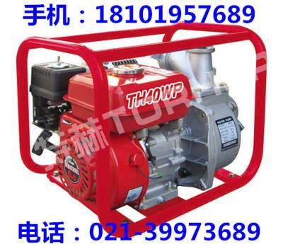 4寸100立方大流量汽油机自吸水泵 施工园林应急自发电抽水机组