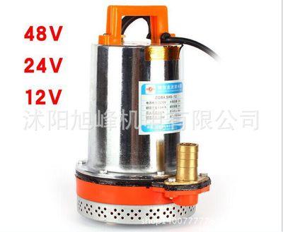 12V 24V 48V家用直流潜水泵电瓶车水泵电动车船用水泵抽水机