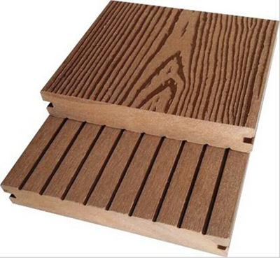 2015款木塑地板 木塑园林地板 塑木亲水平台