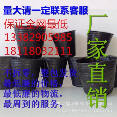 厂家直销黑色塑料 营养钵 育苗袋 营养袋 营养杯