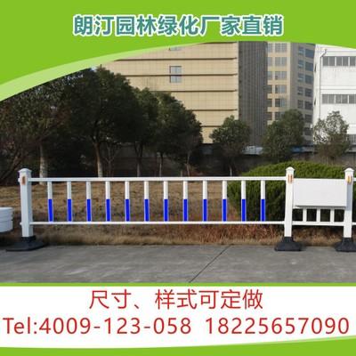 厂家定制 市政道路隔离景观绿化工程 PVC微发泡铁艺护栏组合花箱