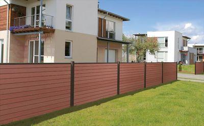WPC木塑围栏板 园林塑木围栏板156*19mm 厂家直销
