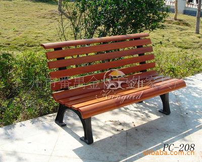 价出售优质木塑座椅,景观座椅,公园椅-资材供应 - 中国园林资材网