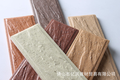高档别墅外墙砖 通体砖 品牌厂家直供批发 45x145mm 华泰彩码砖