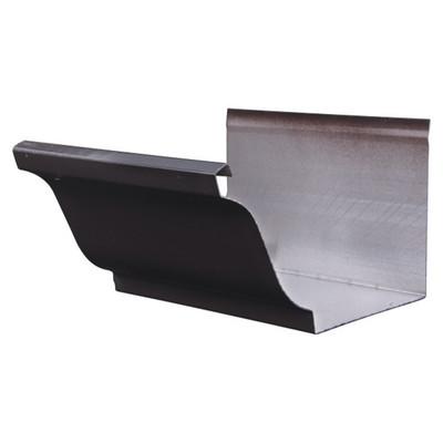 7寸铝合金天沟 5.2寸PVC落水系统 100*80彩色雨水管
