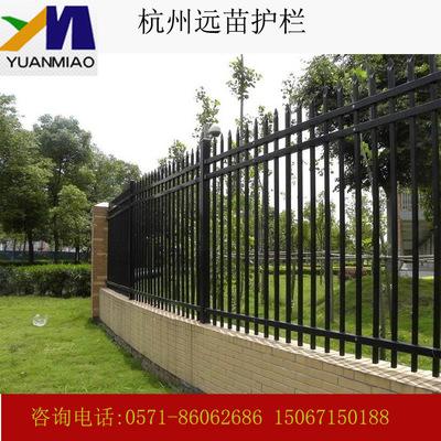 小区 厂区围界护栏 锌钢护栏厂家  围墙护栏