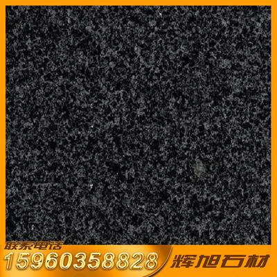 大型石材生产基地 福建芝麻黑g654光面花岗岩 园林景观优秀商