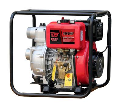 德飒动力2寸柴油机高压泵 大流量高扬程抽水机 小型便携式消防泵
