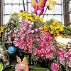 节日雕塑_花卉雕塑_鲜花造型_活动庆典_花艺造型