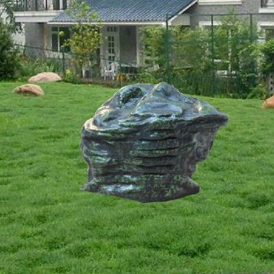 高仿真石头草绿室外防水音箱 公园园林 草坪音响 草地音箱DL-04B
