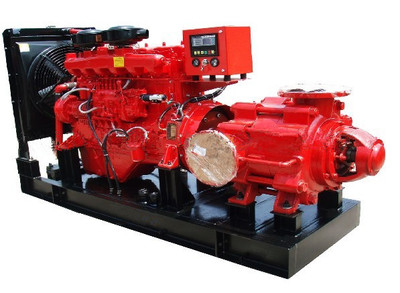 8寸柴油多*离心水泵 矿井市政排水泵抽水机