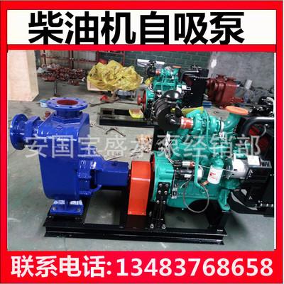 6寸柴油自吸| 大流量柴油机水泵 自吸式抽水泵 防洪抽水机