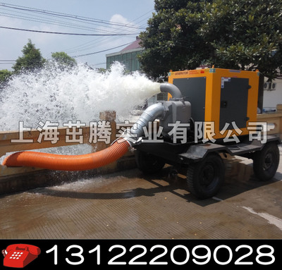 防汛抗旱急救专用ZW-6寸8寸10寸自吸排污泵 柴油机水泵 抽水机