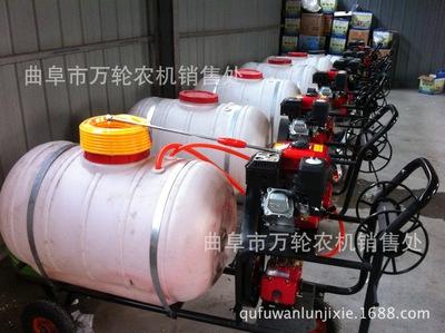 农用小型打药喷雾设备 手推式柴油动力花园草坪洒水喷灌设备