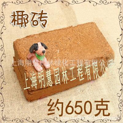 小椰砖 营养土 椰糠 有机种植土阳台种菜 有机土 椰土650g