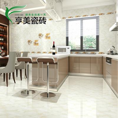 佛山高端品牌瓷砖 厨房卫生间亮丽瓷片 300*600内墙砖 防滑小地砖