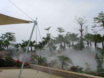 降温除尘雾化设计与制作 人工造雾 雾森冷雾设备 云雾效果 喷雾