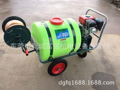 泽藤160升手推式打药车 园林喷雾机 带轮子打药机