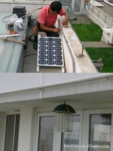 12V18W分体式太阳能杀虫灯 适用于养殖场、大棚基地、别墅区