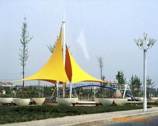 热销 遮阳 膜结构 深圳市川东膜结构工程有限公司 膜结构供应