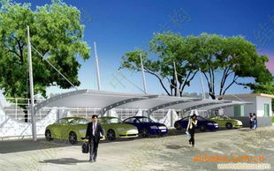 车棚 车篷 遮阳膜结构 河北膜结构车棚 zy 2000 徐州中域空间膜结构